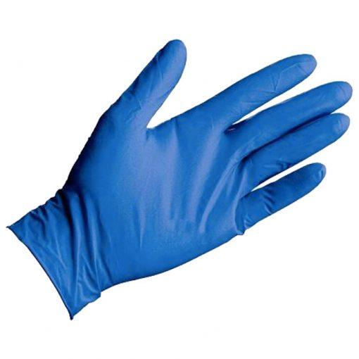 Slika Pribor za čišćenje-rukavice nitril-bez pudera pk100 plave XL